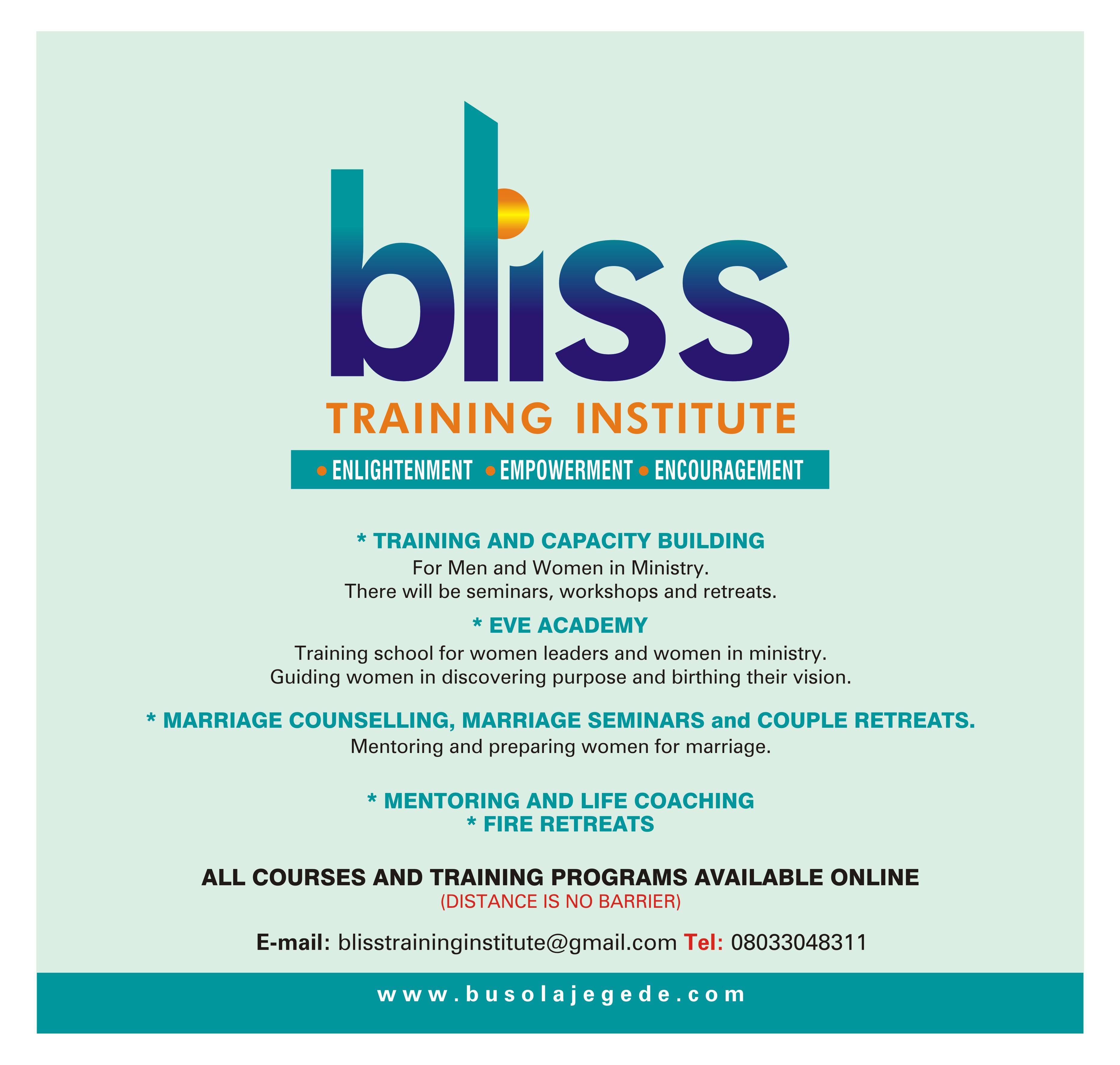 Bliss Traning Institute